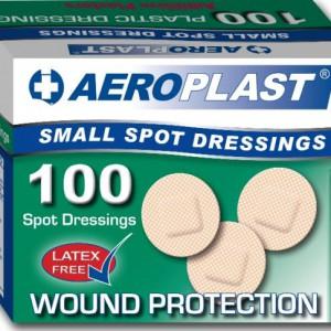 image 410_Aeroplast Bx100 Plastic Spot 2.25cm